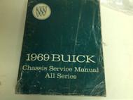 1969 BUICK SKYLARK RIVIERA WILDCAT GS 350 450 Service Shop Manual OEM BOOK