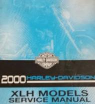 2000 Harley Davidson Sportster XLH Service Shop Repair Manual FACTORY OEM NEW X