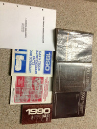 1990 Ford L SERIES L-SERIES TRUCK Service Shop Repair Manual SET W MANY EXTRAS