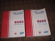 1994 Chevy GMC PG P3 CHASSIS Service Repair Shop Manual Set W FACTORY BOOKS