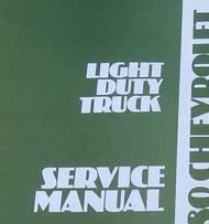 1980 Chevy Chevrolet LIGHT Duty Truck Service Shop Workshop Repair Manual