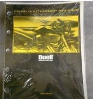 2000 2001 Buell S3 S3T THUNDERBOLT Parts Catalog Book Manual OEM