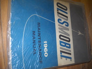 1960 Oldsmobile Olds Maintenance Service Shop Repair Manual OEM 60 FACTORY BOOK