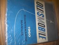 1960 Oldsmobile Olds Maintenance Service Shop Repair Manual OEM 60 FACTORY BOOK