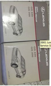 2001 Lexus GS430 GS300 GS 430 GS 330 Service Shop Repair Manual SET FACTORY NEW