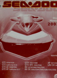 2002 Sea Doo GTX DI GTX 4 TEC Service Repair Shop Manual x VOLUME 2 OEM