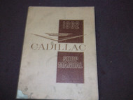 1962 Cadillac Shop Service Repair Manual FACTORY OEM 62 BOOK ORIGINAL X