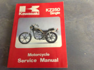 1980 1981 1982 1983 KAWASAKI KZ250 SINGLE KZ 250 Service Repair Shop Manual x