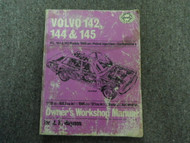 1966 Haynes Volvo 142 144 145 Petrol Injection Owners Workshop Manual WORN