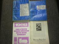 1988 F B C 600-8000 Series Truck Service Shop Repair Manual Set OEM DAMAGE