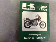 1979 1980 1981 KAWASAKI Z250 KZ250 KZ305 Service Repair Shop Manual 99924101903x
