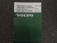 1976 1977 Volvo 240 260 Maintenance Service Shop Manual FACTORY OEM BOOK 76 77