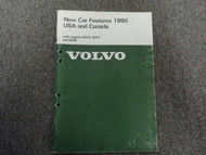 1980 Volvo GL GLE GT COUPE Engines B21A B21F B28F New Car Features Shop Manual