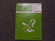 1975 80s Volvo 200 700 Battery Alternator Starter Motor Design Service Manual