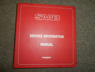 1978 80 82 84 1985 Saab Service Tips Shop Manual 2 Volume SET FACTORY OEM