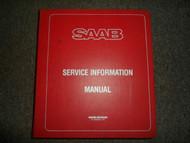 1985 86 87 1988 Saab 99 900 9000 Service Information Supplement Manual 4 VOL SET