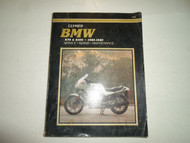 1985 1987 1989 Clymer BMW K75 K100 Service Repair Maintenance Manual Book x