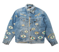 SOLD OUT Metallic Evil Eye Jacket #2