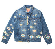 SOLD OUT Metallic Evil Eye Jacket #5
