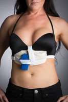 The BRAT. The women's bra holster perfected.