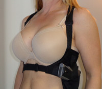 "KImber Ultra Carry .45 ACP. BobCat harness size 28""-30"". Right Hand Medium Holster Pocket."