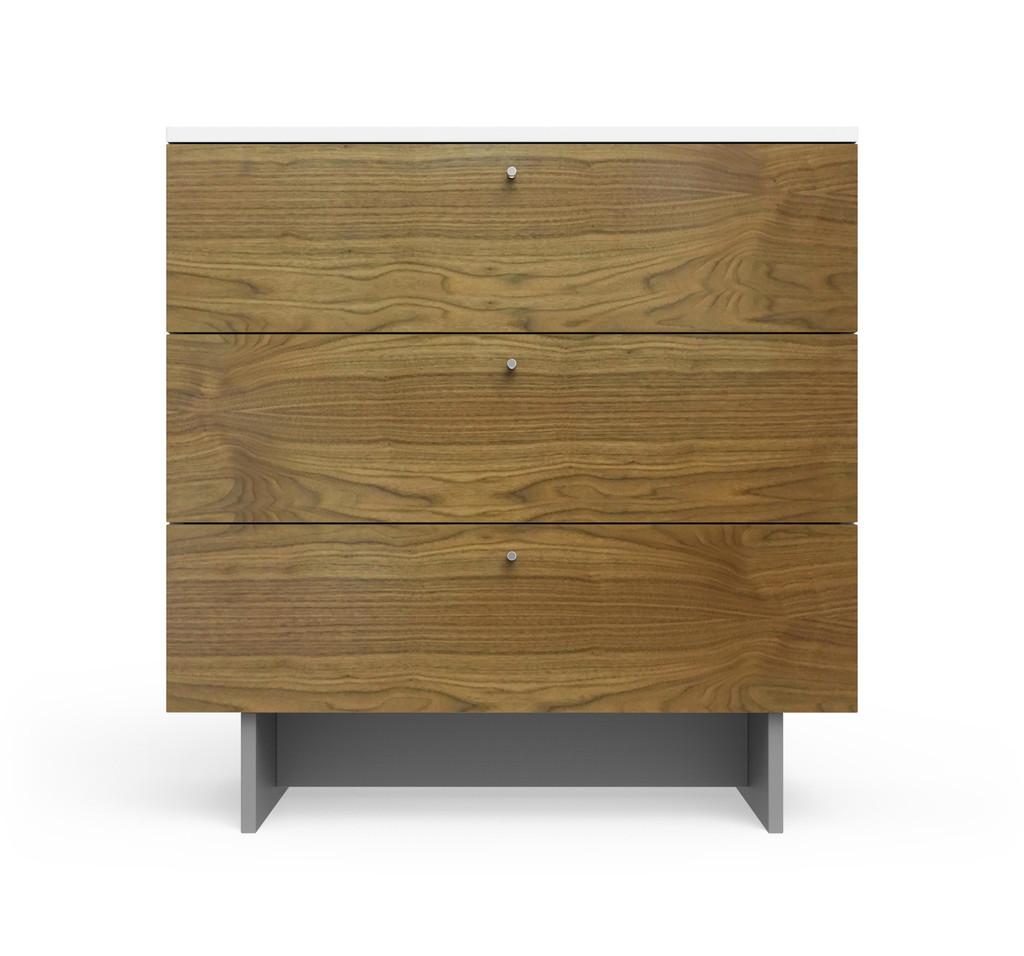 Roh 5 Drawer Dresser in White