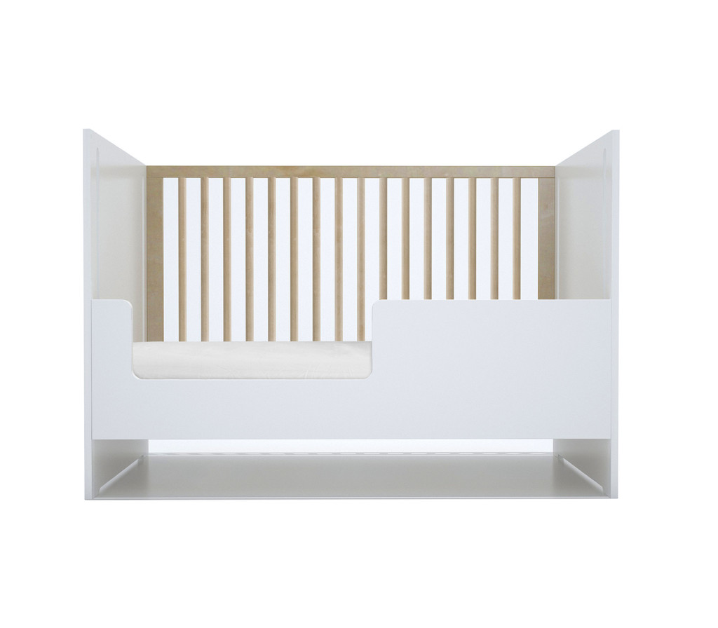 Oliv Crib with optional toddler conversion