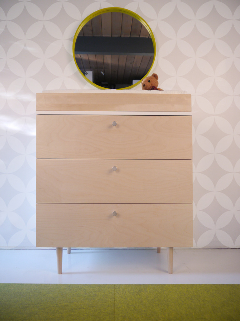 Ulm Birch and White dresser