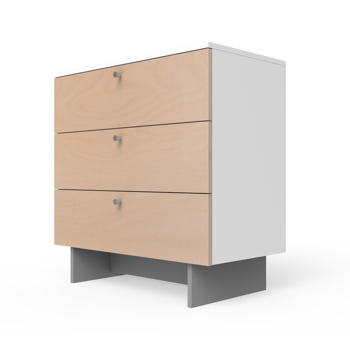 "Roh 34"" Dresser in Birch with Conical Pulls"