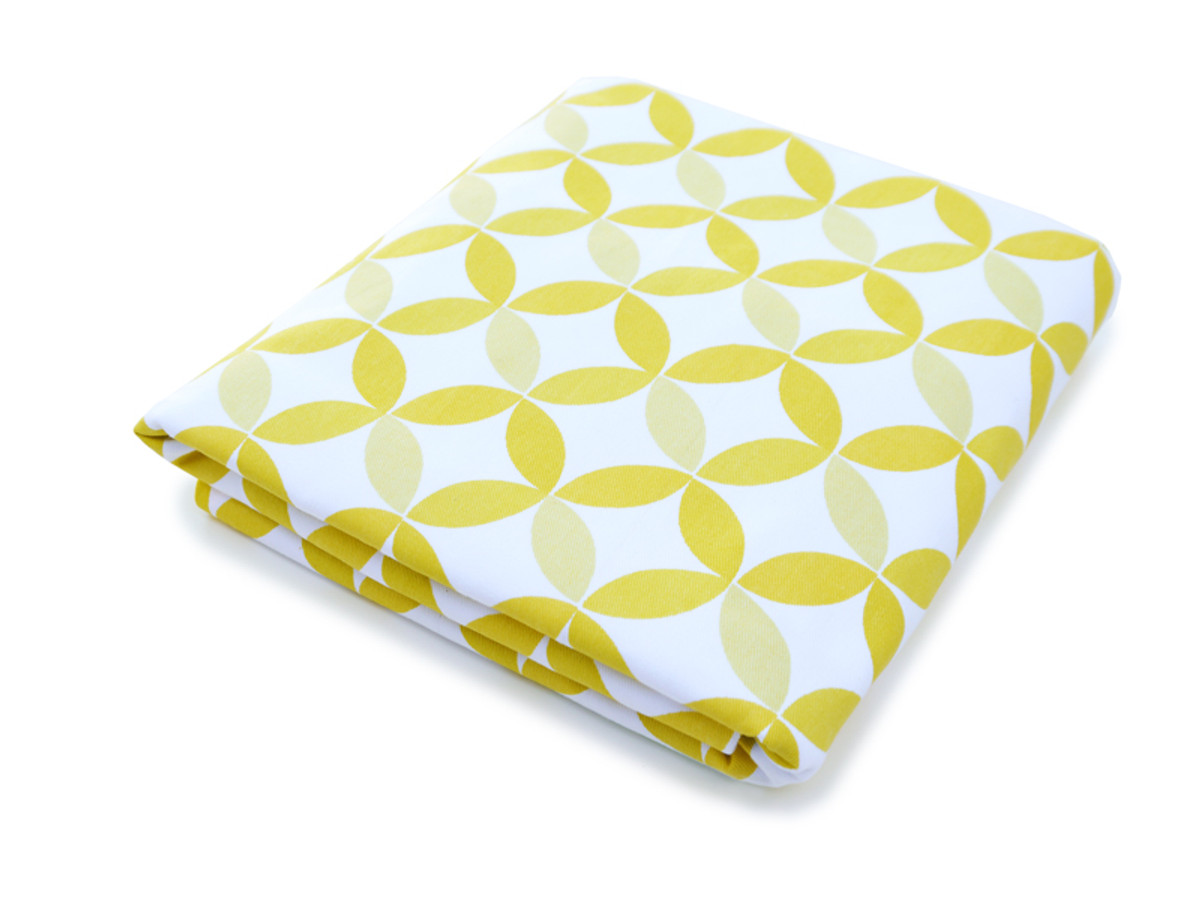 Tops Organic Crib Sheet - Yellow