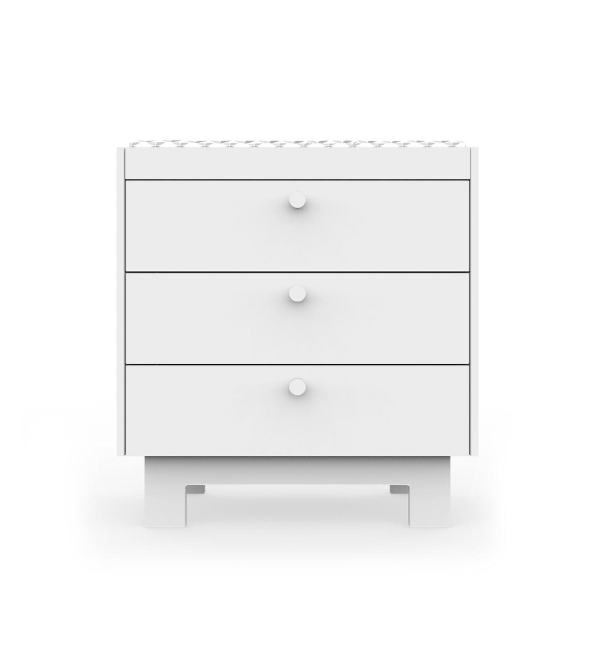 White drawer option