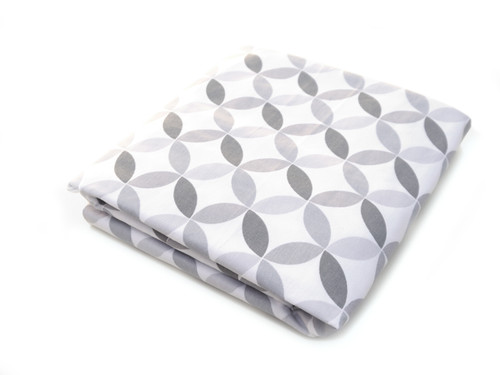 Tops Organic Crib Sheet - Grey