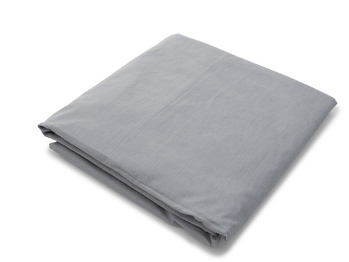 Organic Crib Sheet - Grey