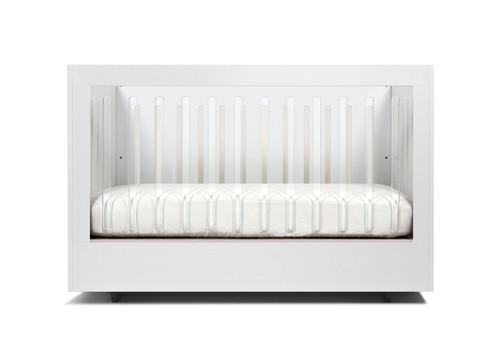Roh Crib Single Side Acrylic - White