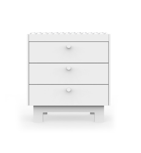 White drawer option