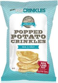 Popped Potato Crinkles - Sea Salt 1.1 Oz (Case of 40)