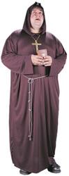 Men's Plus Monk Costume