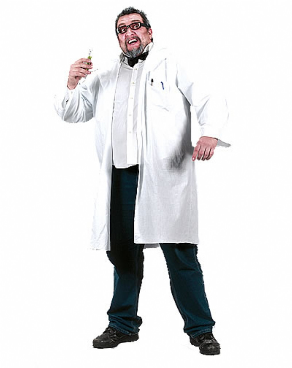 Mad Scientist Lab Coat Costume Mad Scientist Xlarge Lab Coat
