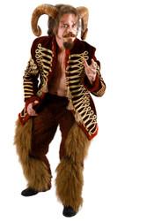 Ram Horns Costume Topper