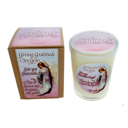 Angel - Giving Gratitude to God - Pink Clouds - 7oz