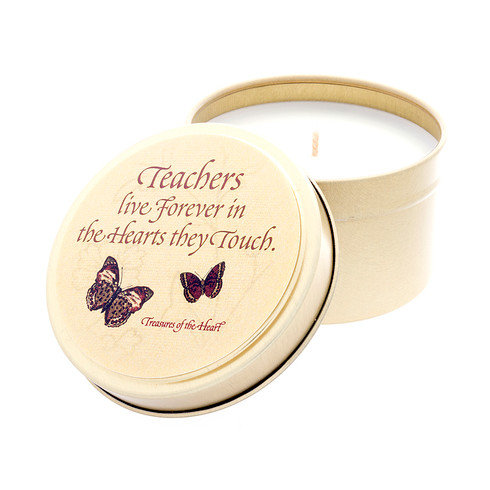 Butterfly Line - Teachers live forever - 6oz