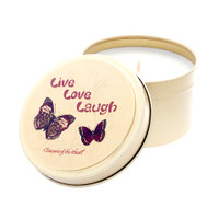Butterfly Line - Live love laugh - 6oz