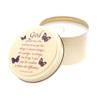 Butterfly Line - Serenity Prayer - 6oz