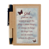 Butterfly Line - Serenity Prayer - Journal