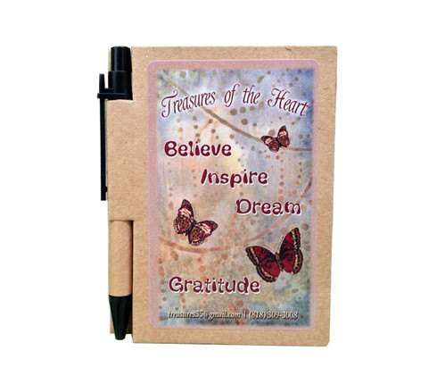 Butterfly Line - Believe Inspire Dream Gratitude - Journal