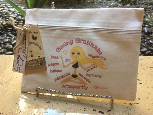 Meditation Line - Giving Gratitude - Canvas Bag