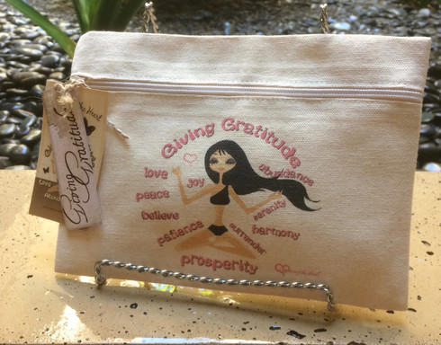Meditation Line - Giving Gratitude - Canvas Bag