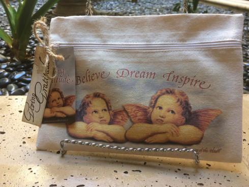 Angel Line - Believe Dream Inspire - Canvas Bag