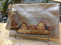 Angel Line - Believe Dream Inspire - Canvas Bag