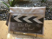 Take One Line - Take One day at a time - Canvas Bag